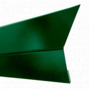 Карнизная планка (капельник) для мягкой кровли RAL 6005 0