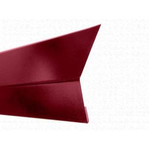 Карнизная планка (капельник) для мягкой кровли Velur 3009 Оксидно_Красный