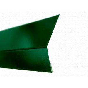 Карнизная планка (капельник) для мягкой кровли Velur 6005 зелёный