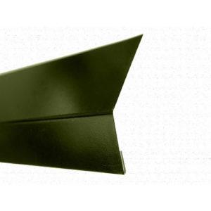 Карнизная планка (капельник) для мягкой кровли Velur 6020 зелёный