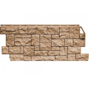 Фасадная панель FineBer Камень Дикий (Терракотовый) 1117x463