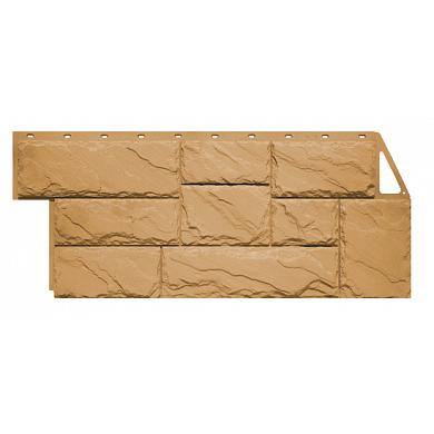 Фасадная панель FineBer Камень Крупный ( Песочный ) 1080x452