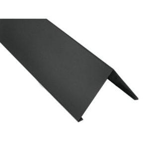 Конек прямоугольный Velur Мокрый асфальт 7024 (0
