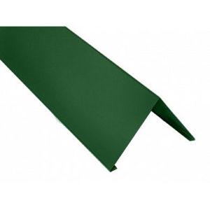Конек прямоугольный Velur Хромовая зелень 6020 (0