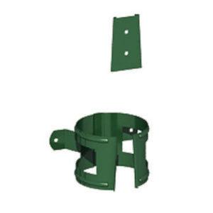 Крепление трубы (на дерево) Престиж 6005 зелёный мох D100