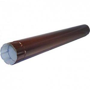 Водосток Металл Профиль.Труба водосточная Престиж 8017 коричневый шоколад D100/ 1 метр