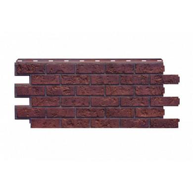 """Фасадная панель Nordside Старый форт """"Рыже-терракотовый"""""""