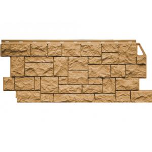 Цокольный сайдинг FineBer Камень Дикий (Песочный) 1117x463