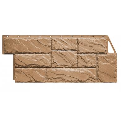 Цокольный сайдинг FineBer Камень Крупный (Терракотовый) 1080x452