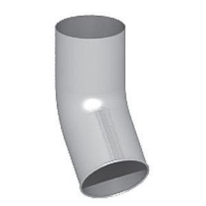 Отвод Престиж белый D100 (60 гр)