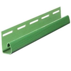 J-профиль FineBer Extra Acrylic Зелёный 3050мм