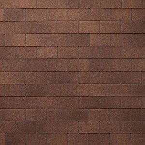 АПП Модифицированная Гибкая черепица Тегола Классик Коричневый с отливом (1кв.м)