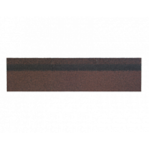 Конек-карниз Shinglas  Коричневый (1уп/12/20 м.п.)
