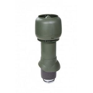 Vilpe Вентиляционный выход изол. 125/160/500 с колпаком Зеленый