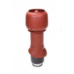 Vilpe Вентиляционный выход изол. 125/160/500 с колпаком Красный