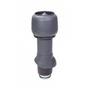 Vilpe Вентиляционный выход изол. 125/160/500 с колпаком Серый