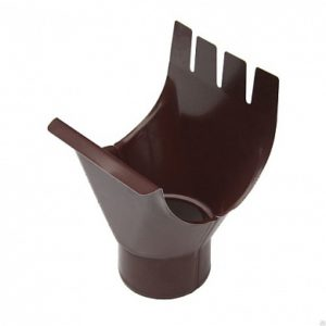Воронка выпускная (приемник воды) Престиж 8017 коричневый шоколад D150/100