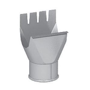 Воронка выпускная (приемник воды) Престиж белый D150/100