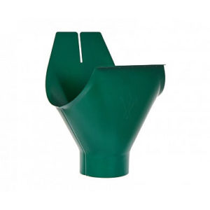 Воронка желоба Аквасистем RAL 6005 (Зеленый мох) 100/150
