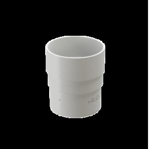Муфта соединительная 80 мм ПВХ Docke Standard Белый
