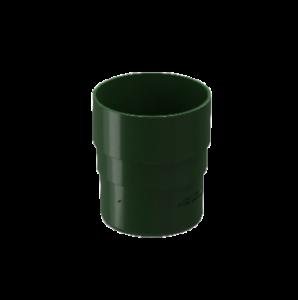 Муфта соединительная 80 мм ПВХ Docke Standard Зеленый