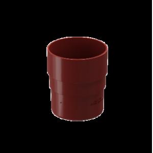 Муфта соединительная 80 мм ПВХ Docke Standard Красный