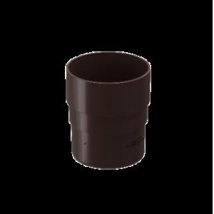 Муфта соединительная 80 мм ПВХ Docke Standard Темно-коричневый