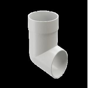 Отвод Docke Standard 80 мм Белый