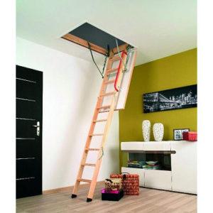 Лестница чердачная Fakro Komfort (LWK Plus) Факро 60*120*280