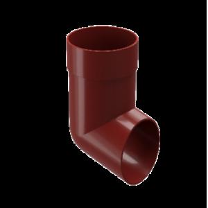 Отвод Docke Standard 80 мм Красный