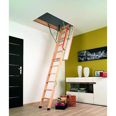 Лестница чердачная Fakro Komfort (LWK Plus) Факро 60*130*305