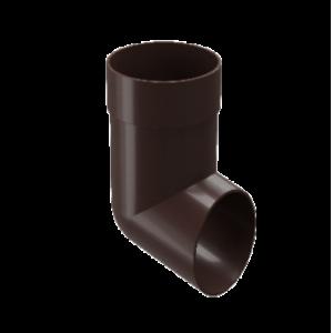 Отвод Docke Standard 80 мм Темно-коричневый