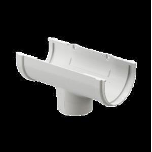 Водосток Docke Standard. Воронка ПВХ 120 мм. Белый