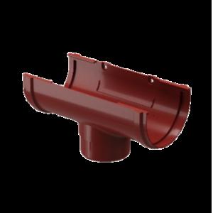 Водосток Docke Standard. Воронка ПВХ 120 мм.Красный