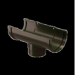 Водосток Docke Standard. Воронка ПВХ 120 мм.Темно-коричневый