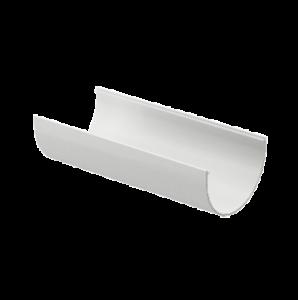 Водосток Docke Standard. Желоб ПВХ 120 мм х 2 м Белый