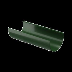 Водосток Docke Standard. Желоб ПВХ 120 мм х 2 м Зеленый