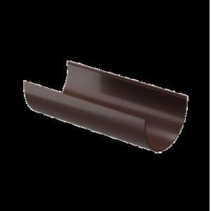 Водосток Docke Standard. Желоб ПВХ 120 мм х 2 м Темно-коричневый