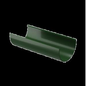 Водосток Docke Standard. Желоб ПВХ 120 мм х 3 м Зеленый