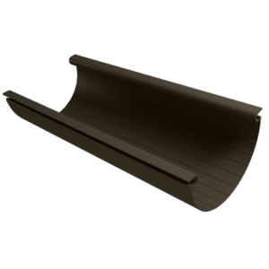 Водосток Винилон. Желоб Vinylon пластиковый 3м. Венге Д-125мм