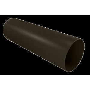 Водосток Винилон. Труба водосточная пластиковая 3м. Венге