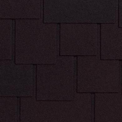 Мягкая кровля Ruflex Dranka Темная ночь (1 кв.м.)