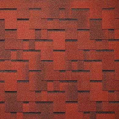 Мягкая кровля Тегола АПП Модифицированная Альпин Красный с отливом (1кв.м)