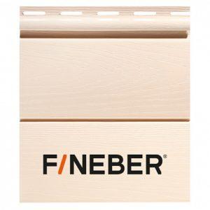 Сайдинг FineBer BlockHouse Classic Color Слоновая кость