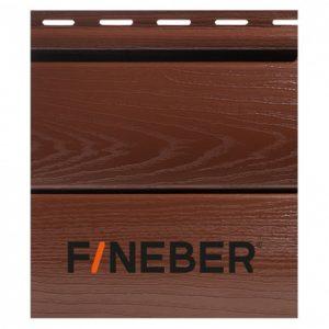 Сайдинг FineBer BlockHouse Extra Acrylic Могано