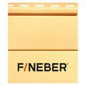 Сайдинг FineBer BlockHouse Бревно Classic Color Янтарь