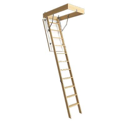 Лестница чердачная Docke PREMIUM 70x120x300