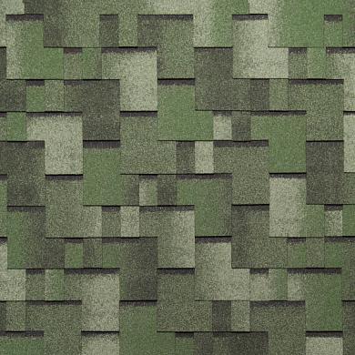 Мягкая кровля Тегола АПП Модифицированная Альпин Зеленый с отливом (1кв.м)
