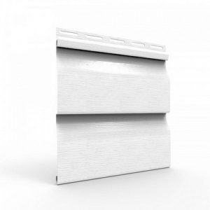 Сайдинг панель Mitten Frost (белый) -3
