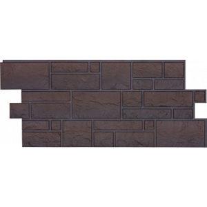 Фасадная панель Docke-r  Burg Камень Тёмный (Юрский мрамор)